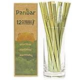 Panbar Strohhalme aus 100% Bambus Trinkhalme nachhaltig &...