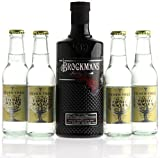 BROCKMANS Gin a 0,7l 40% Vol. & 4 x Fever Tree Indian Tonic...
