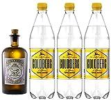 Monkey 47 Gin & 3 x 1,0 Liter Goldberg BIG Tonic Set inc....