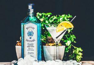 Bombay Sapphire Gin mit Martini
