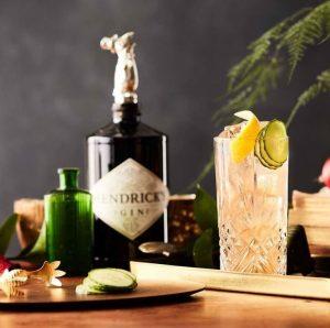 Hendricks Gin Buck Cocktail