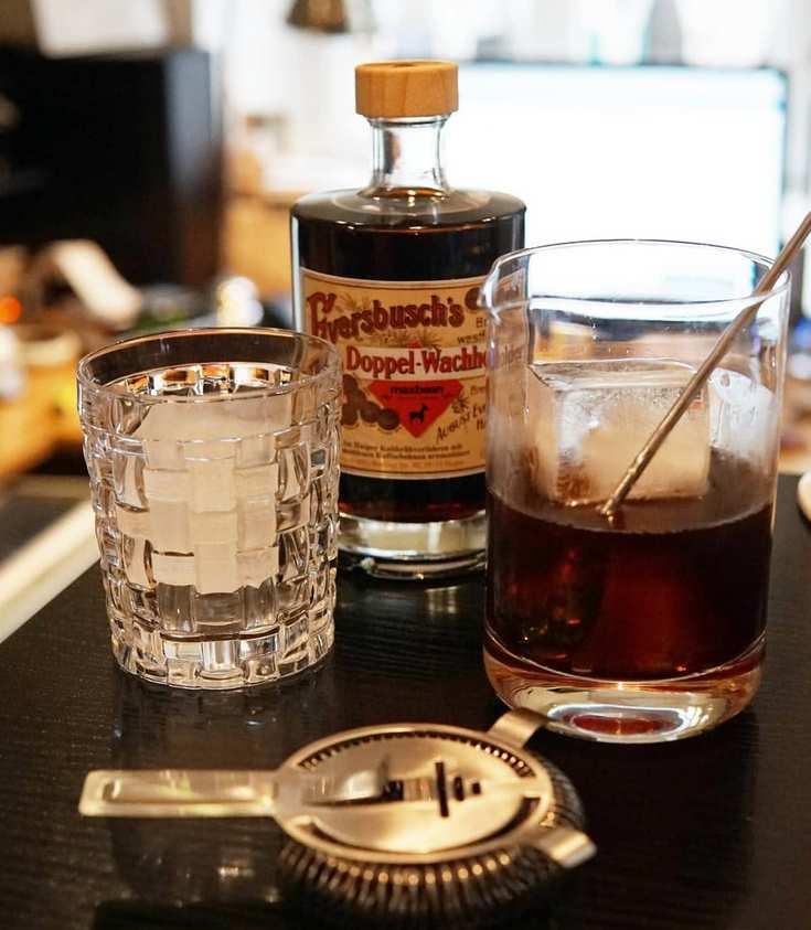 Kaffee Doppelwachholder von Eversbusch als Negroni