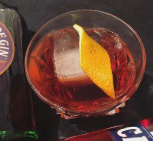 Negroni Cocktail Variante - der Sloe Groni
