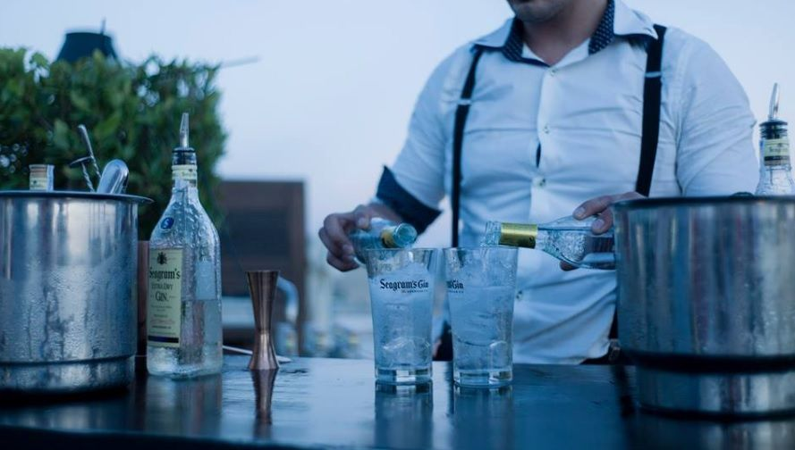 Seagrams Dry Gin - passende Tonic Water