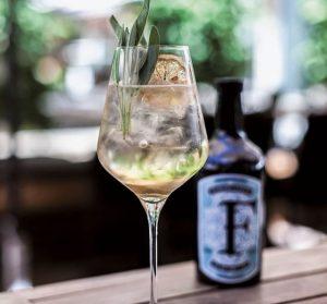 Ferdinands Saar Dry Gin Sommeliers Gin Tonic