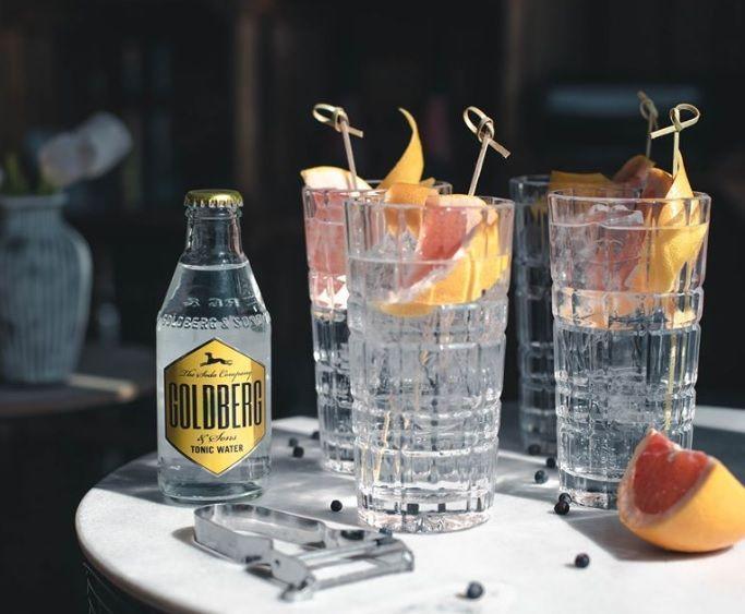 Goldberg Tonic Water: Geschmack & passende Gins