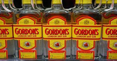 Gordons Gin Flaschen - Herkunft, Geschmack & Geschichte