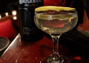 Martini mit Brockmans Gin