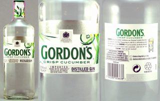 Gordons Crisp Cucumber Gin