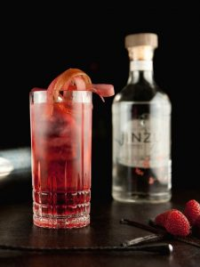 Jinzu Gin mit Tom Collins Cocktail