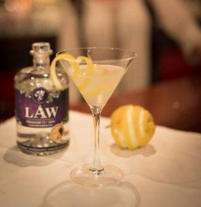Martini mit dem LAW Gin