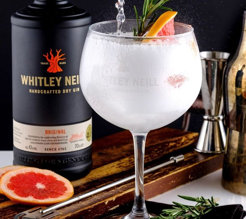 Gin Tonic mit Whitley Neill Gin
