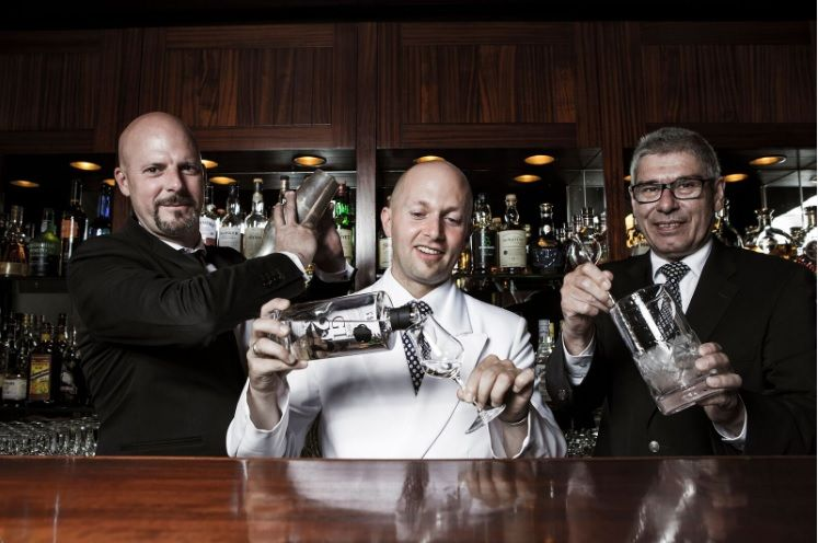 Gin 27 - Peter Roth, Christian Heiss und Markus Blattner