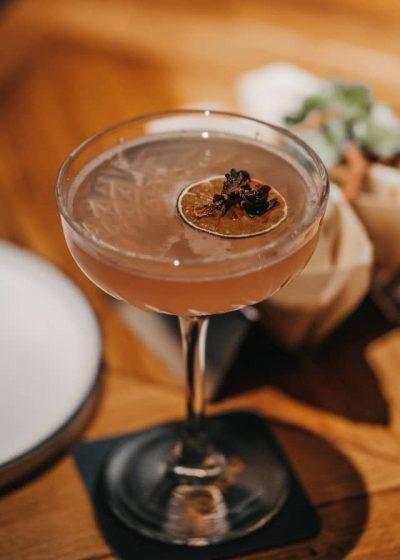 Last Word Cocktail mit Luchs Gin