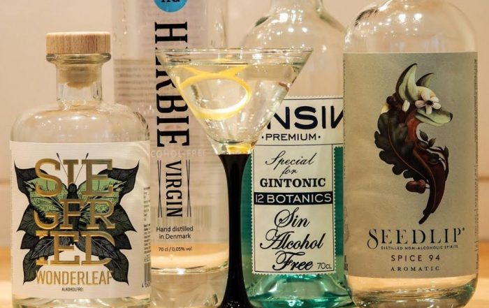 Martini ohne Alkohol: das Experiment als Rezept