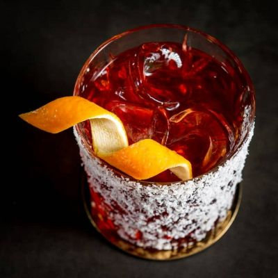 Negroni Cocktail mit Juniper Jack Gin
