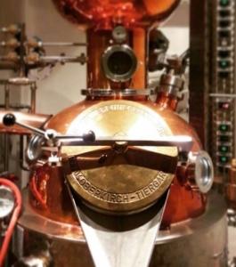 Linden No. 4 Dry Gin Brennblase