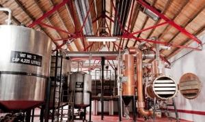 Die Caorunn Gin Destillerie