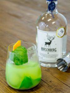 Hirschberg Dry Gin Basil Smash