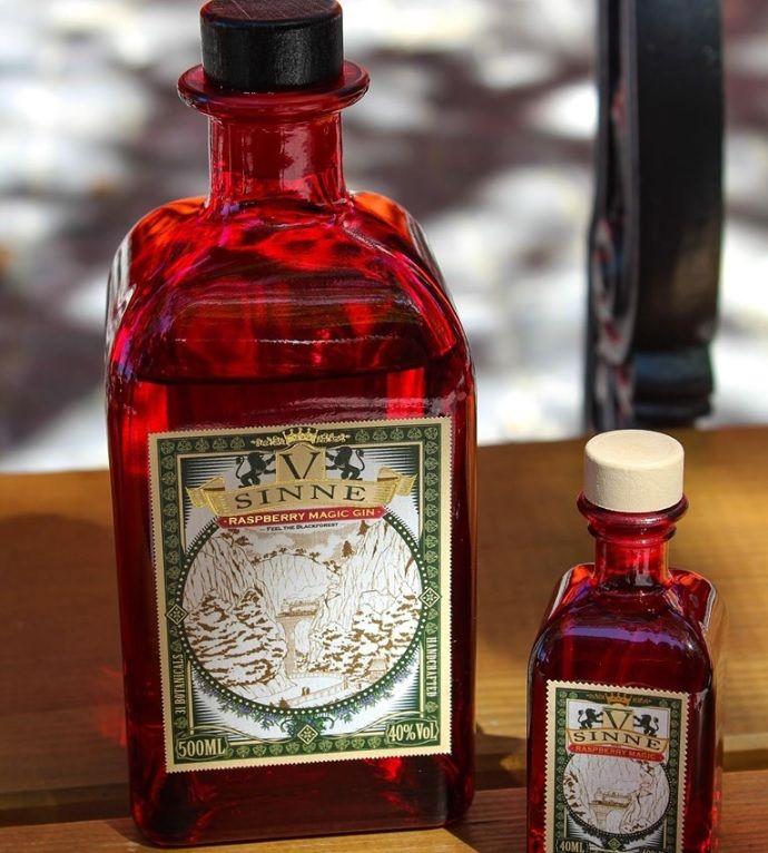 V Sinne Raspberry Magic Gin mit Himbeeren im Test