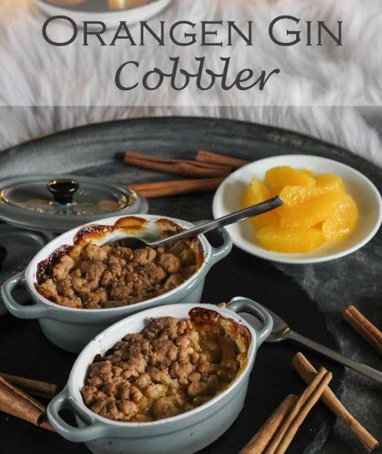 Orangen Gin Cobbler Rezept
