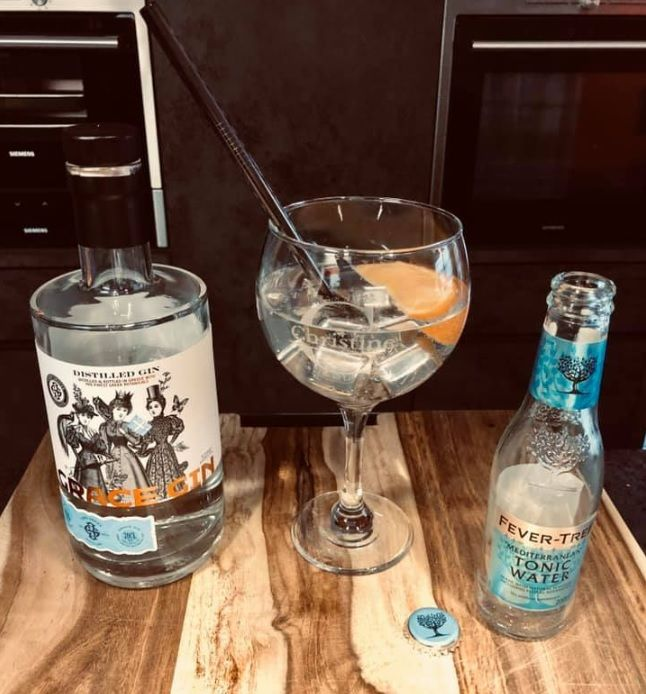 Grace Gin Tonic mit Fever Tree mediterranean