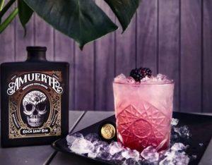 Bramble Cocktail mit Amuerte Gin