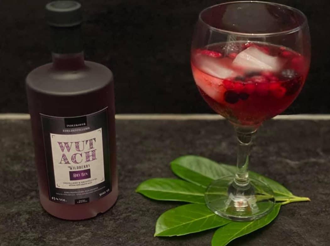 WUTACH Wildberry Gin mit Glas