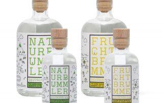Manukat Fruchtbrumme und Naturbummler Dry Gin