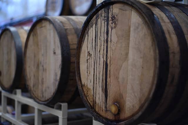 Holzfassgelagerter Barrel Aged Gin