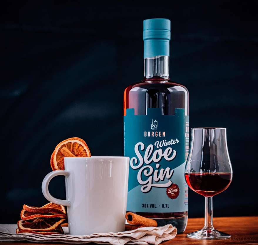Burgen Winter Sloe Gin im Test & Tasting