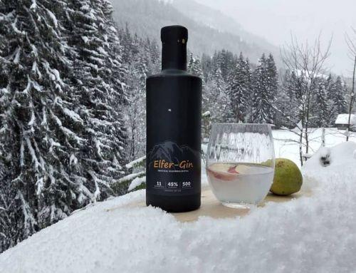 Elfer Dry Gin aus dem Kleinwalsertal in Österreich im Tasting