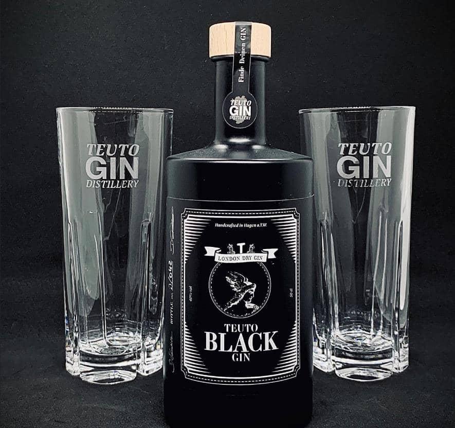 Teuto Black Gin im Test & Tasting