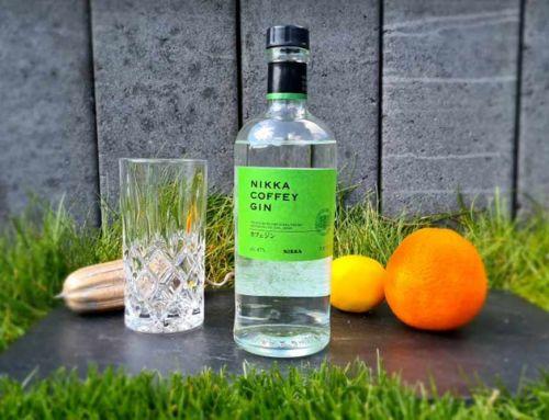 Nikka Coffey Gin aus Japan mit komplexen Zitrusnoten im Tasting