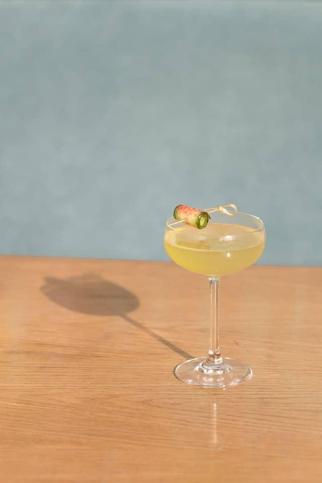 Last Word Cocktail mit Konkani Gin