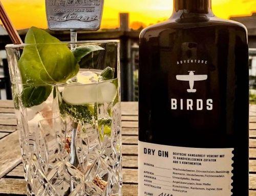 BIRDS Dry Gin im Test & Tasting: komplexes Profil für den guten Zweck